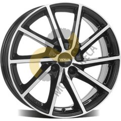Alutec Singa 6.5x16 5x114,3  ET38 Dia67.1 Diamond Black Front Polished